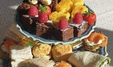 Harkin's Cafe are now serving Afternoon Tea