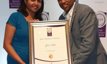 Spice India wins at the Irish Restaurant Awards