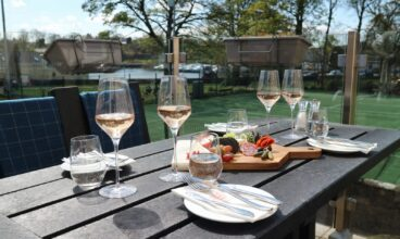 Outdoor Dining With A View At The Red Bank Restaurant